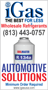 Automotive Solutions with R134a 12 oz. Cannisters - iGas USA